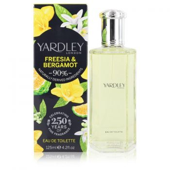 Nước hoa Yardley Freesia & Bergamot Eau De Toilette EDT 125ml nữ